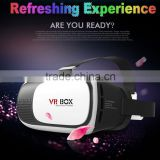 HOTSALE new design clear lens 100% vision virtual reality 3d glasses headset,3d vr glasses for Iphone 6