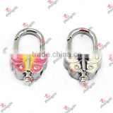 Enamel Butterfly Keychain Parts for Key Rings Crafts (KR15121438)