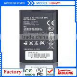 Full Capacity 1700mAh HB4W1 Battery gb t18287-2000 for C8813 c8813Q/g520/g510/g525/t8951