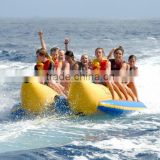 10 Persons Ocean Inflatable Float Water Banana Boat With 2 Tubes For Sale