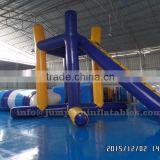 Adults water park 2016 large Inflatable Tower with catapult,Hot inflatable jump tower for water blob