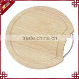 Rubber Wood Chopping Block Cutting Board with End Grain for Vegetable and Fruit and other Food WK1012