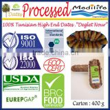 "Tunisian High Quality Dates ""Deglet Noor"" Category, Organic Processed Dates Healthy Fruit Products, Fresh Dates Fruit, 400 g"