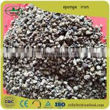 Good quality Sponge iron oxide filter/Manufacturer Sponge Iron Powder