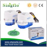 Singflo new disign DC Automatic bilge pump 1100 Series - 12V - 1100 GPH