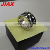 custom stainless steel boys finger rings fashion