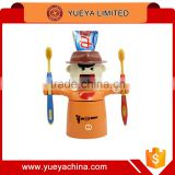 Toothpaste Squeezer toothpaste dispenser with toothbrush holder and Tooth cup