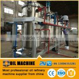 Edible vegetable cooking sunflower oil refinery equipment