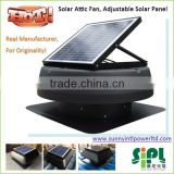 solar vent fan roof exhaust fan bathroom exhaust dc solar power system home use