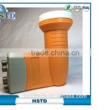 High gain single twin c ku band LNB support HD digital