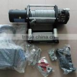 Car parts mini winch accessories off road 12v car winch 8000 lbs 4x4 electric winch for car