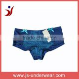 js-284 Women Cheap Sexy Net Boyshorts with Lace (Accept OEM)