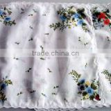 Lady's cotton fasion handkerchief