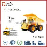 5ch 1:22 model rc dump truck wholesale