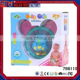2017 New arrival educational wholesale baby rattles