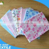 Hot Sale Soft Cloth Nappies Newborn Flannel Baby Sheets Wholesale Reusable Baby Cloth Diaper