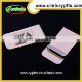 China Metal money clips with rectangle design , Gold and Nickel Soft Enamel,High Quality
