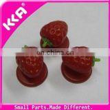 Nice strawberry chef button for chef uniform