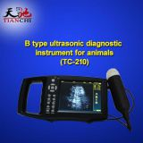 TIANCHI Vet Ultrasound Machine Light Weight Cow Ultrasound TC-210 Manufacturer In Greece