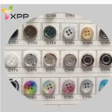 Fashion Polyester High-Grade Shirt Button Plastic