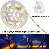DC12V Warm White Led Strip Led Night Light Nursery Led Night Light Sensor Led Digital Bed Light Strip With Motion Sensor