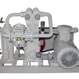 3 Cylinder Piston Air Compressor Suitable For Working Lpg Storages Ac Power