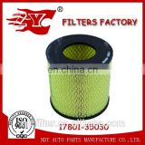 Auto car air filter replacement with Satisfying quality OEM 17801-35030 17801-54070 for Toyota TARAGO