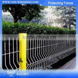 Hot Sale!! Pvc Spraying Protecting Fences, Pvc Coated Iron Protecting Fence , Galvanized Protecting Fence