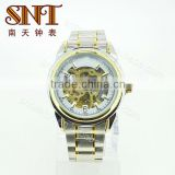 SNT-ME010 high quality skeleton mechanical watches for man