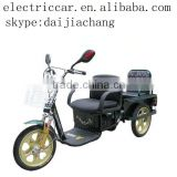 2 seats folded electric tricycle