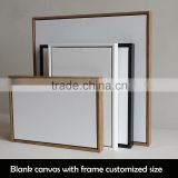 framed linen blank mini stretched canvas for paintings                                                                         Quality Choice