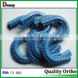 Reliable dental orthodontic products orthodontic teeth seperator/ orthodontic dental seperating elastics rings