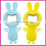 fashion cute funny rabbit animal shape silicone wine opener