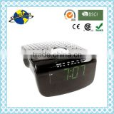 Tetragon Green LED Digital AM FM Alarm Clock Radio