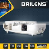 Brilens 3 LED 3 LCD 3000 lumens 1080P digital home theater full hd beamer/projector logo