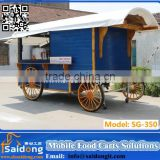 INquiry about Promotion great 2 wheels mobile horse cart/ horse carriage cart design