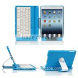 Bluetooth Keyboard Case Cover For iPad mini 1, 2 ,3 with Stand With 360 Degree Rotating And Multiple Viewing