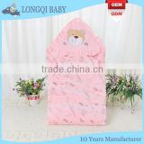 BB-MS-027 china quilted soft cotton security baby blanket