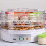 300W Food Dehydrator Food Dryer With Digital Display & Adjustable and Removable Tray FD-770A