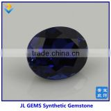 2014 New Products Synthetic Oval Blue Sapphire 34# Corundum Gem Precious Stone