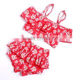 competitive fancy red cute rabbit girls bathing suit lovely little girls tankinis teenager girl swimmingsuit                                                                                                         Supplier's Choice
