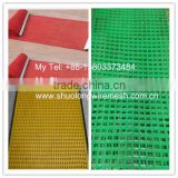 Factory Direct-Supply Hole 2-100 mm Polyurethane Screen Mesh application in Mine & construction