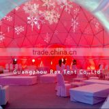 Geometric dome big steel event dome tent luxury outdoor zelte 6x6m indian wedding tent arabic tent with factory price
