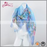 China Factory Wholesale Egyptian Butterfly Print Women Shawl Scarves