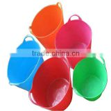 flexible plastic bucket,garden bucket,colorful bucket                                                                         Quality Choice