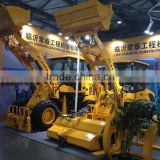 mini loading machinery/compact wheel loader ZL18/shovel loader with snow blade/fork loader ZL918/1.8T small loader 0.7cbm bucket