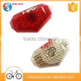 Entire bright led bike light turn signal light / bicycle light set