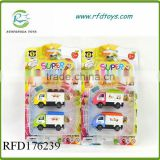 Cheap mini toy alloy sliding food truck toy die cast car