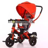 Double pusher stroller baby