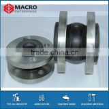 DIN Standard Rubber Expansion Joints Carbon Steel Flanged